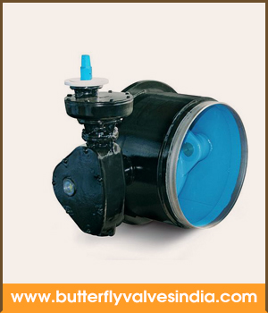 butt welded butterfly valves manufacturer