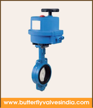 electric actuated butterfly valves manufacturers and suppliers in india