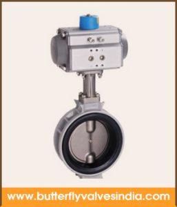 pneumatic butterfly valve manufacturer and supplier in rajkot