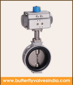 pneumatic butterfly valve manufacturer and supplier in rajkot