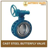 Cast Steel Butterfly Valve manufacturer in india