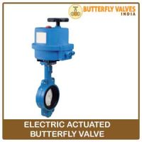 electric actuated butterfly