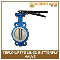 teflon butterfly valve