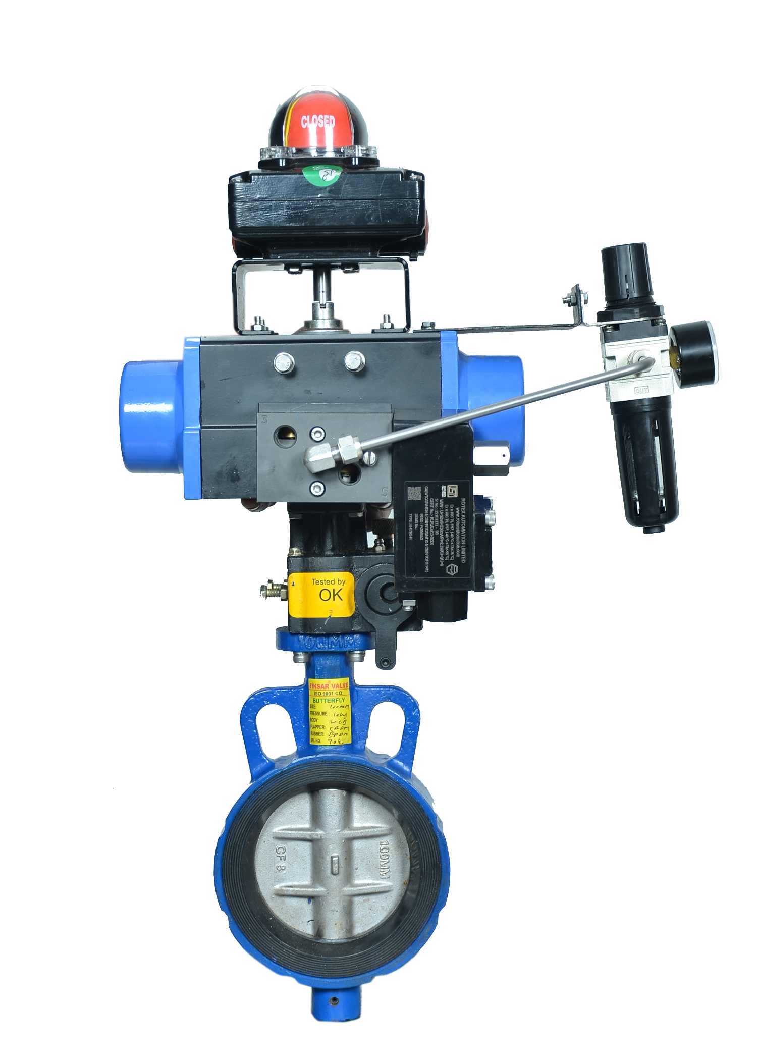 Double Offset Disc Butterfly Valve