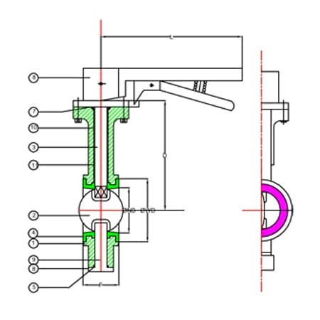 Wafer Butterfly Valve in oman, canada, singapore, australia