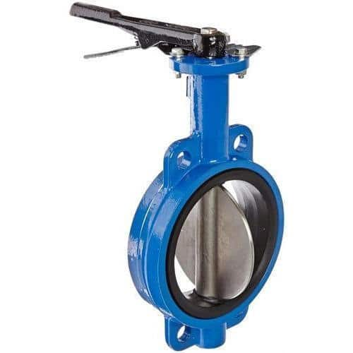 #alt_tagDuctile Iron Butterfly Valve